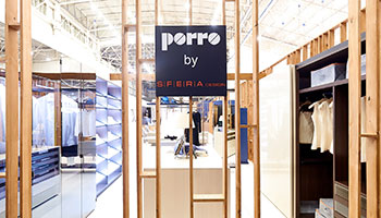 Porro - Porro with Sfera Design at the Interior Mebel fair in Kiev
