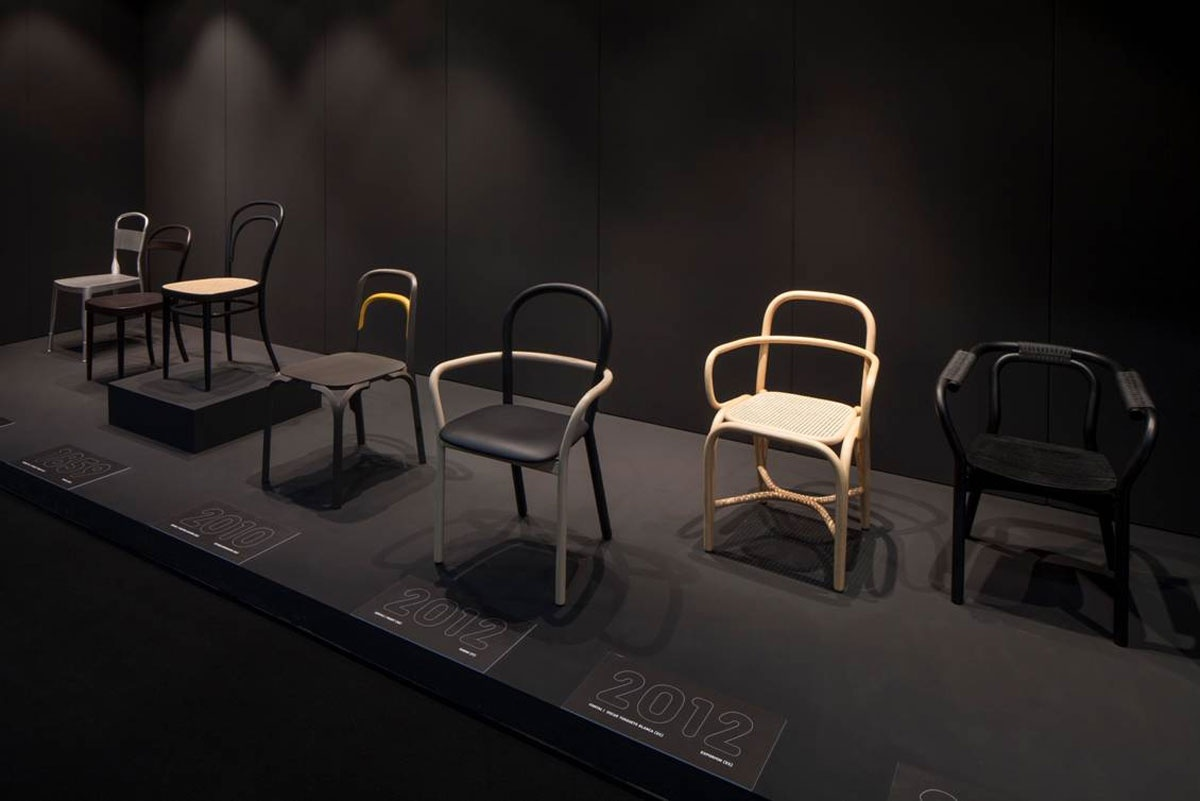 Porro spa news events gentle chair at interieur 2012 for Interieur kortrijk 2015