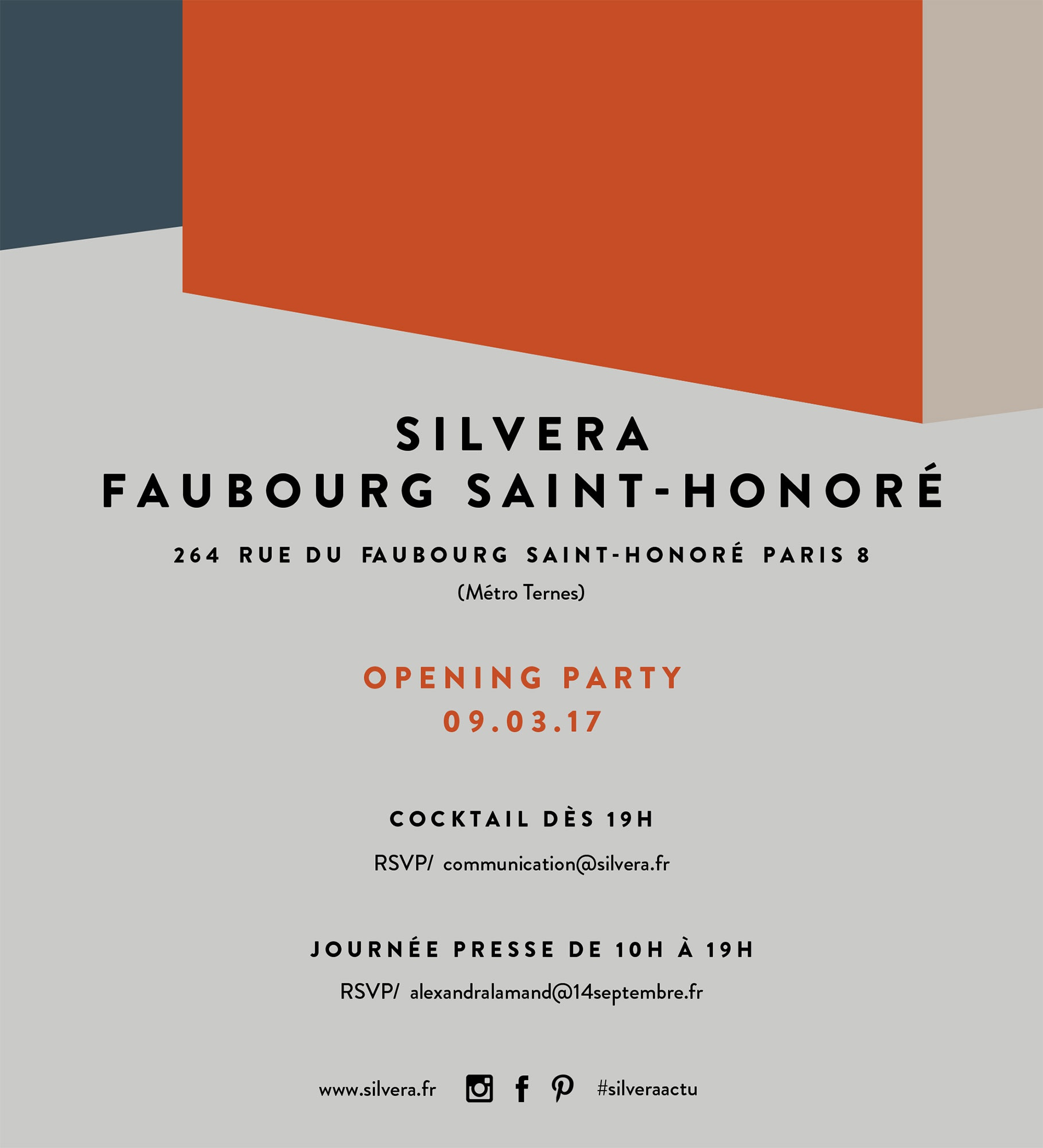 Porro Spa | News | Events | OPENING OF THE NEW SILVERA ST. HONORÉ ...
