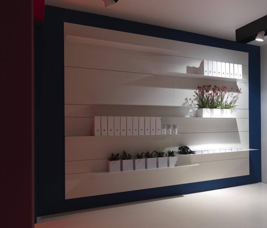 porro spa news progetti installazioni salone del mobile 2008 tempo. Black Bedroom Furniture Sets. Home Design Ideas