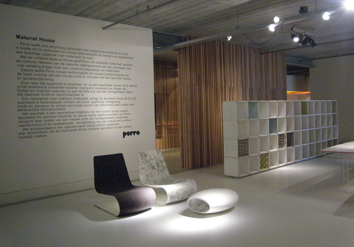 Porro Spa | News | Project+&+set+up | Material House by Porro at ...