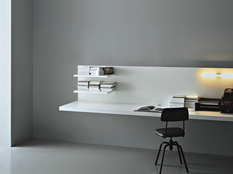 Настенный стол с выдвижным ящиком web, porro - мебель мр.