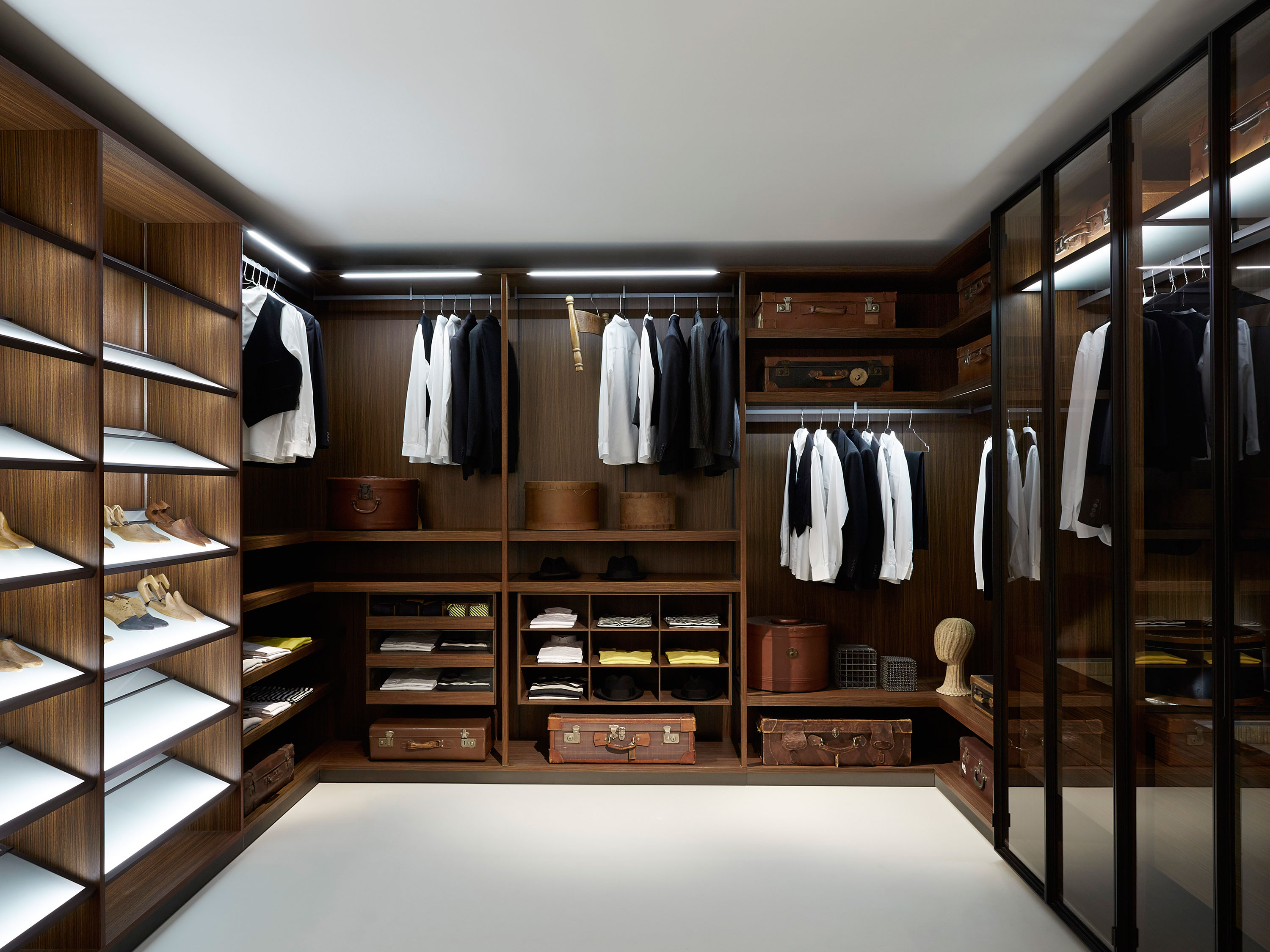 porro spa | products | systems | dressing room