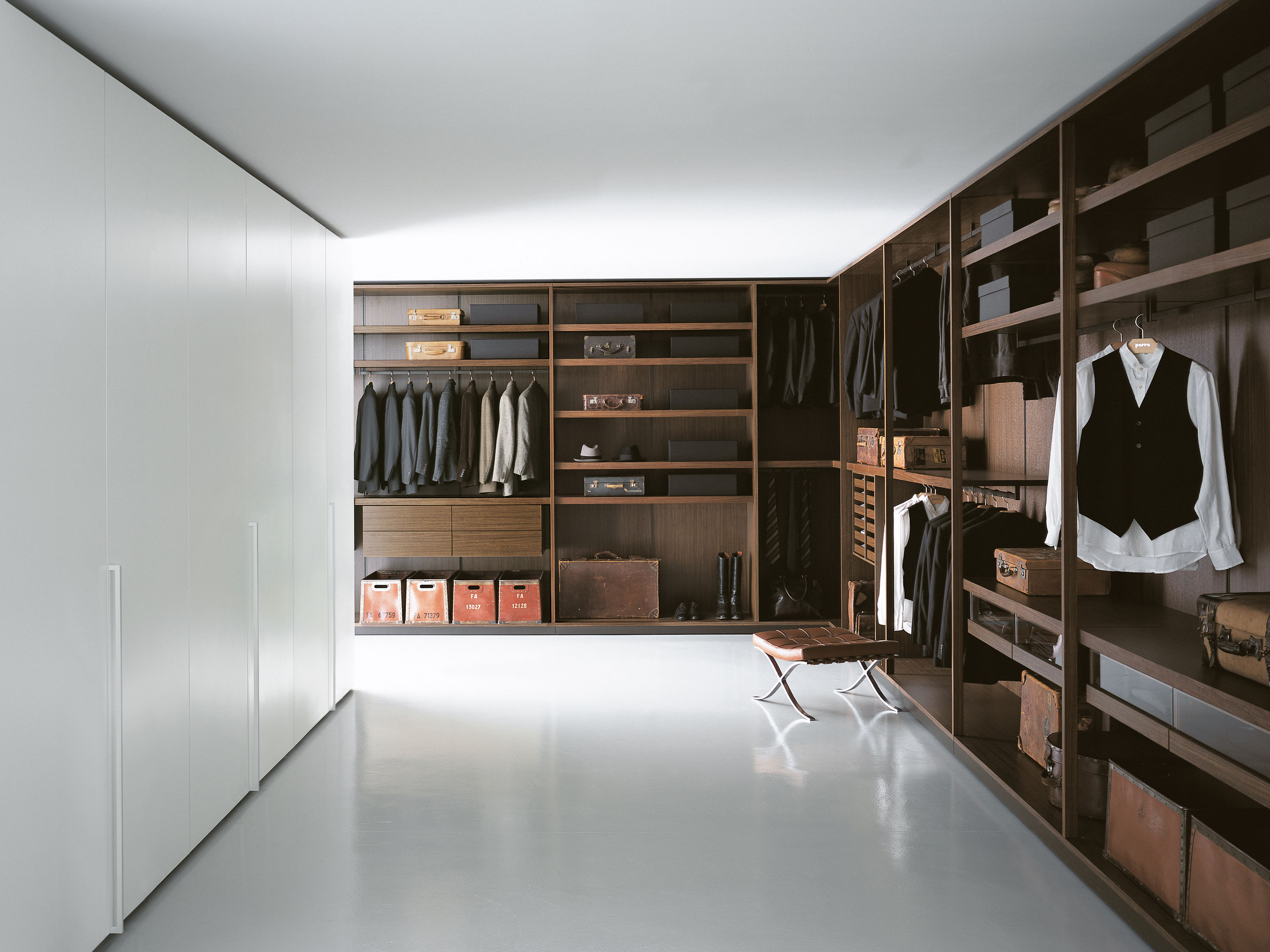 Porro Spa Products Systems Dressing Room