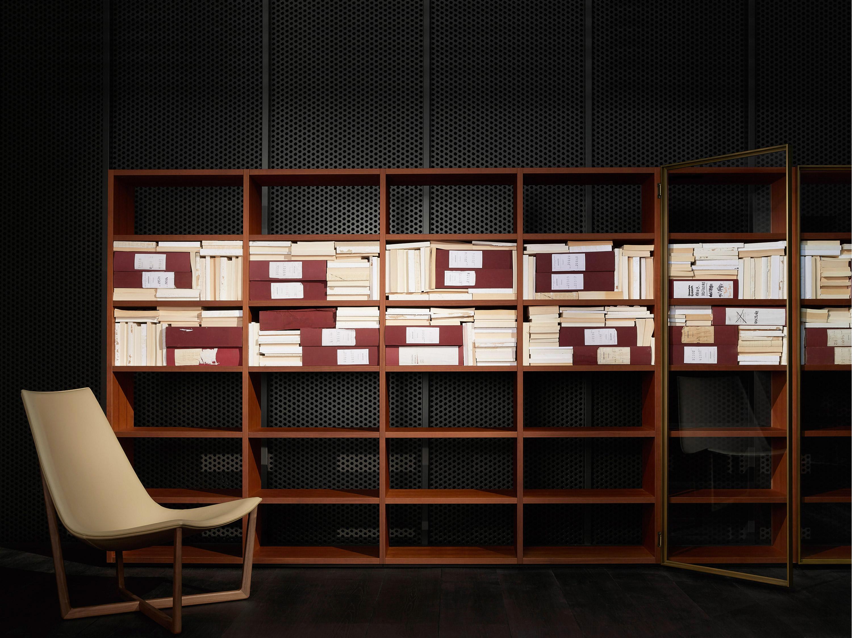 Libreria Vetrina Ufficio : Porro spa prodotti sistemi vetrina showcase