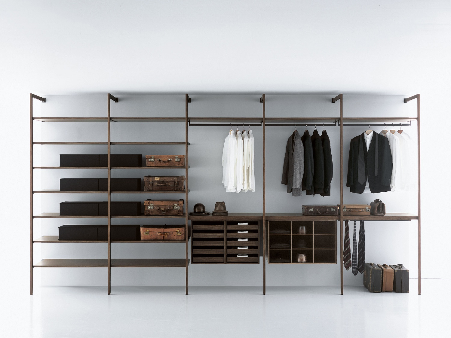 Porro Spa | Prodotti | Sistemi | Cabina armadio / Walk-in closet