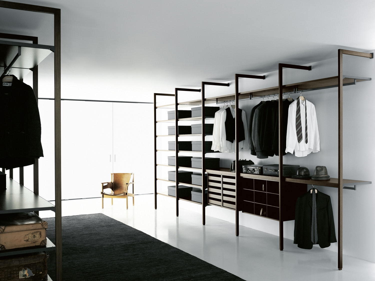 Porro spa prodotti sistemi cabina armadio walk in closet - Cabina armadio design ...